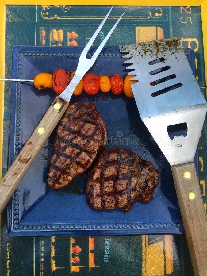 Barbecue di estate fotografia stock