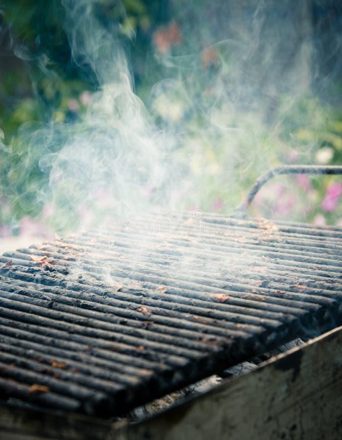 Barbecue di fumo fotografia stock libera da diritti