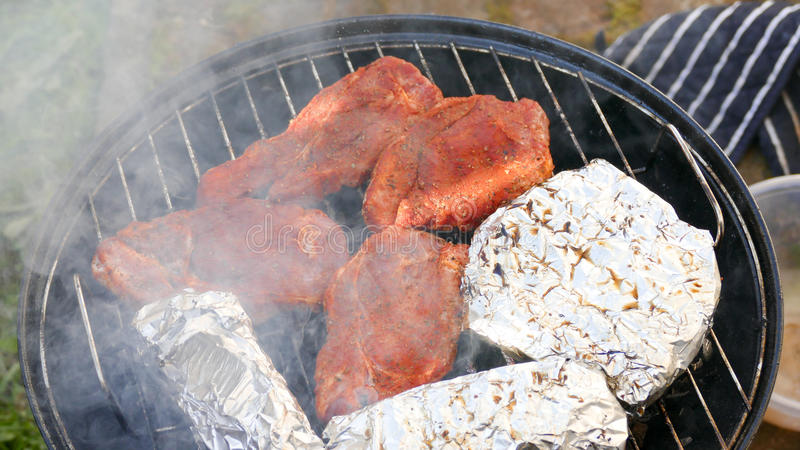 Barbecue royalty free stock photography