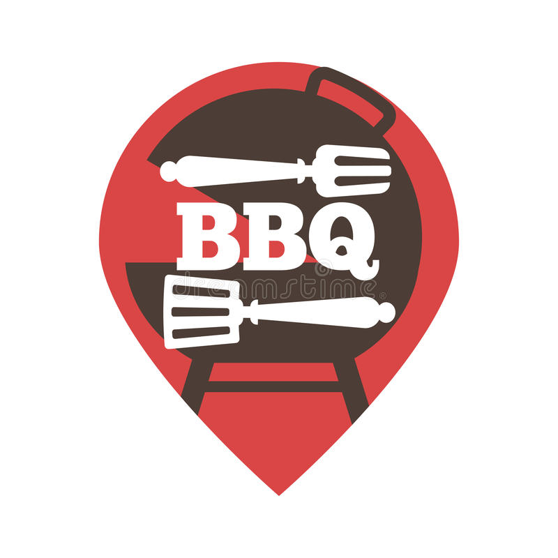 Barbecue or grill party vector icon of bbq for restaurant menu or download barbecue or grill party vector icon of bbq for restaurant menu or weekend outdoor lunch stopboris Image collections
