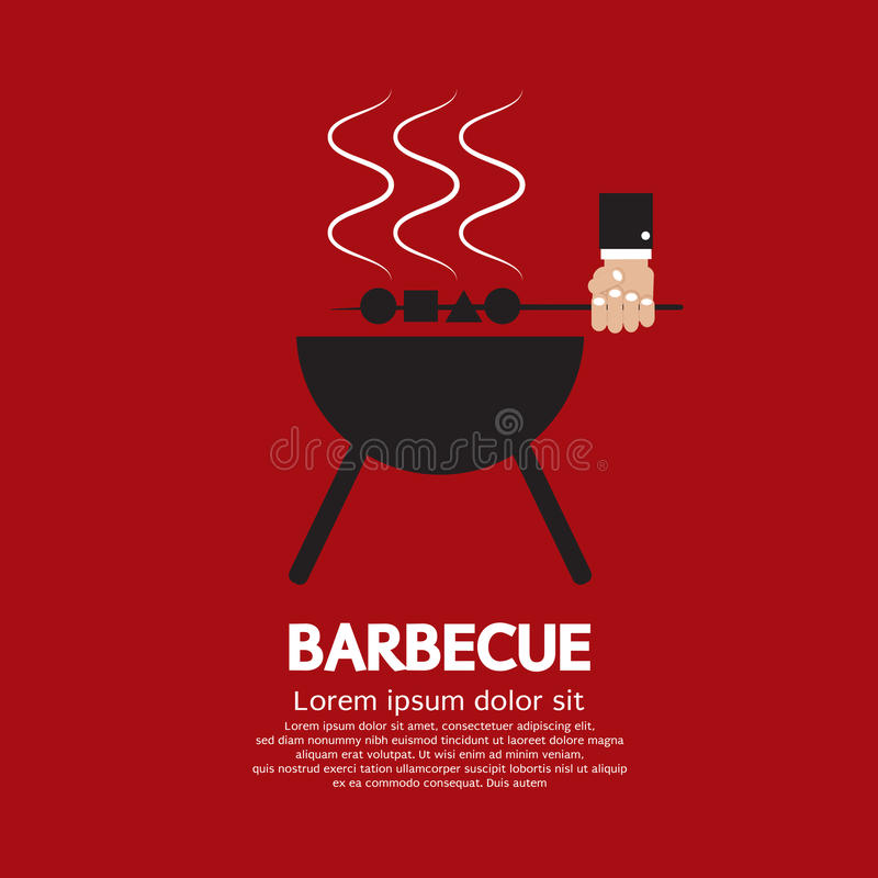 Barbecue stock illustration