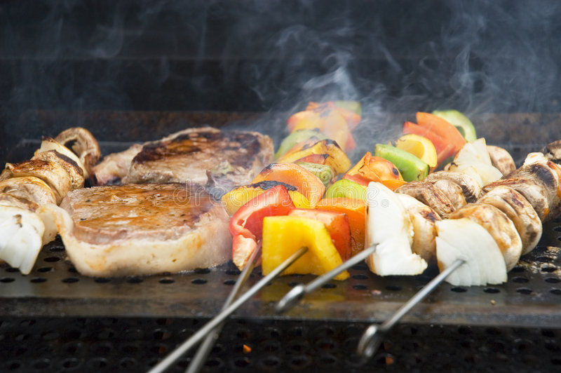 Barbecue meals 1 stock photo