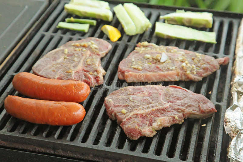 Barbecue Meat royalty free stock photos