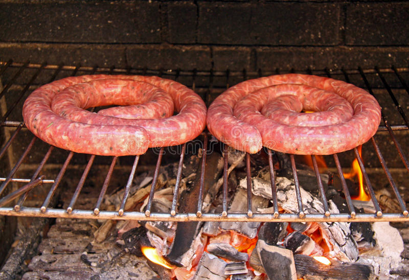 Barbecue of meat royalty free stock images