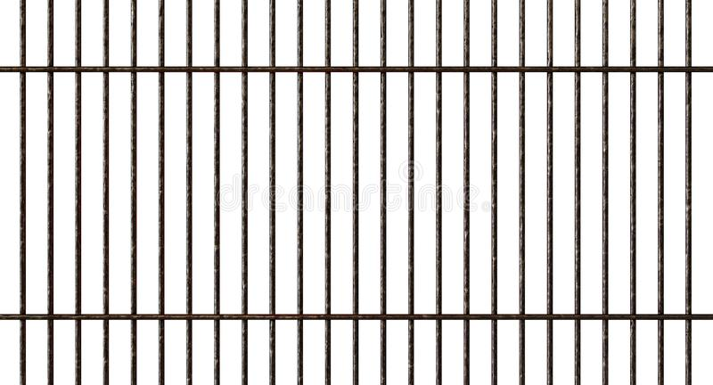Barbecue Metal Grid. A regular shaped metal barbecue grid on an isolated white studio background - 3D render vector illustration