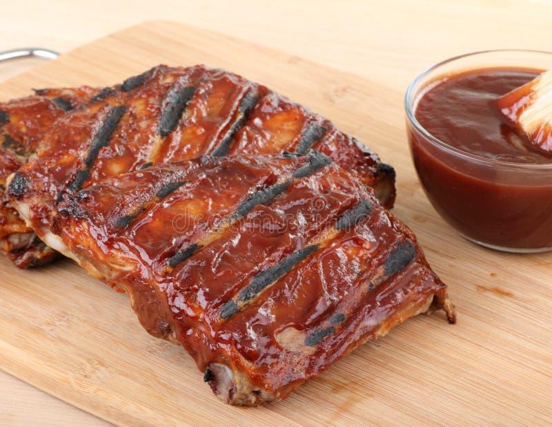 Barbecue Ribs royalty free stock photo