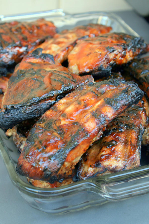 Free Barbecue Ribs For The Family Meals Royalty Free Stock Photo - 11122295