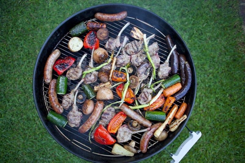Barbecue sano immagine stock