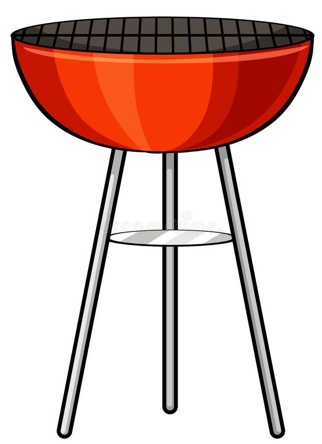 Barbecue stove stock illustration