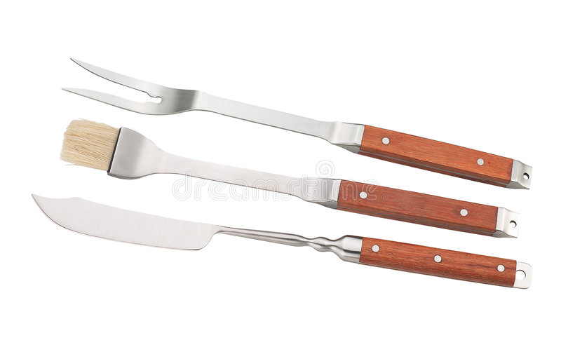 Barbecue tools stock photography