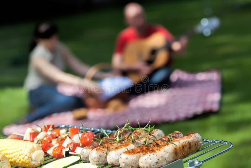 Barbecuepartij royalty-vrije stock fotografie