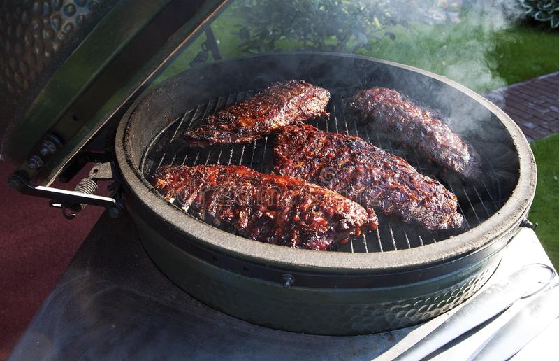 Barbecueribben stock fotografie