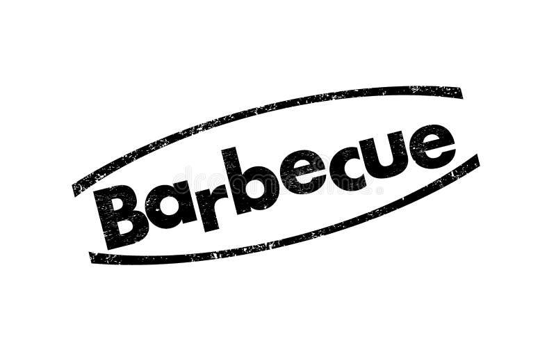 Barbecuezegel stock illustratie