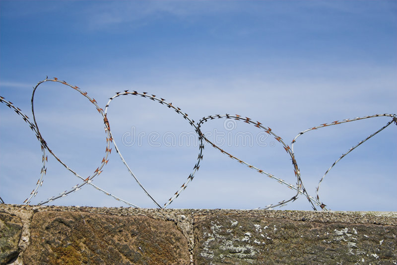 Download Barbed wire stock image. Image of keep, barbed, safety - 169343