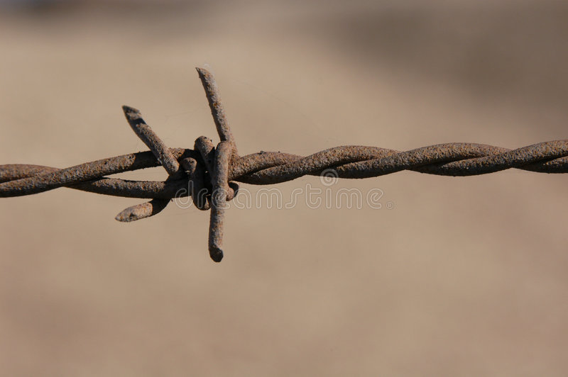 Download Barbed Wire Royalty Free Stock Images - Image: 461049