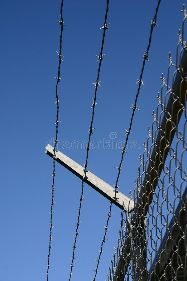 Free Barbed Wire Fence Stock Photography - 5140972