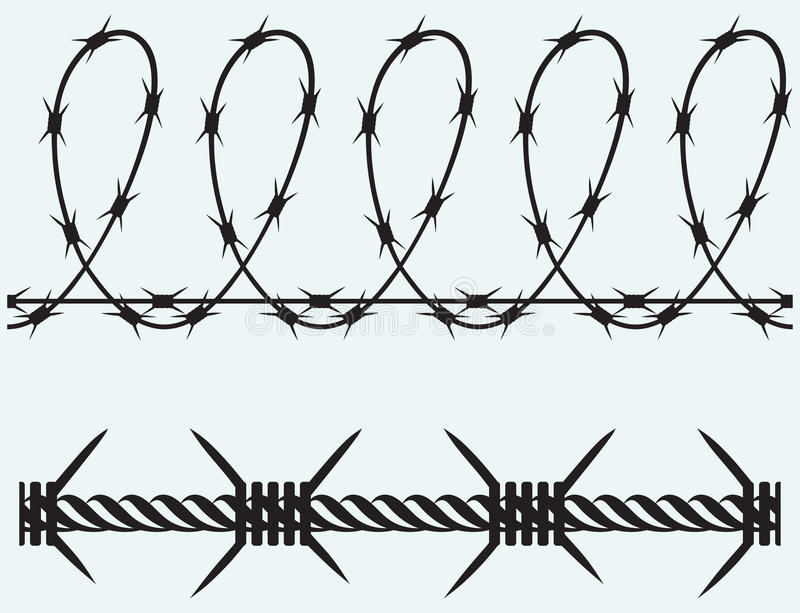 Barbed Wire Drawing. Barbed Wire Drawing I - Activavida.co