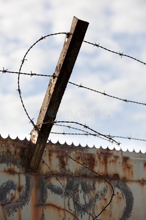 Download Barbed Wire Royalty Free Stock Image - Image: 34951276
