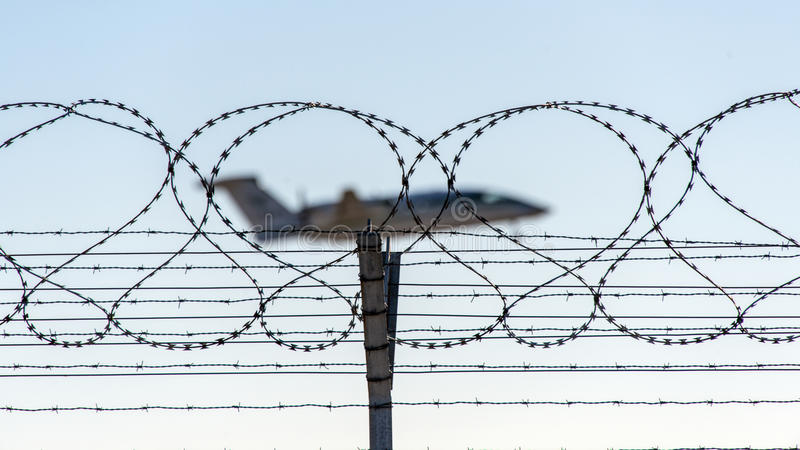 Download Barbed Wire Stock Photo - Image: 41770832