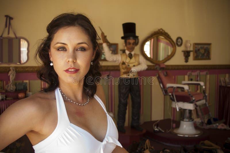 Barbeiro do vintage fotografia de stock royalty free