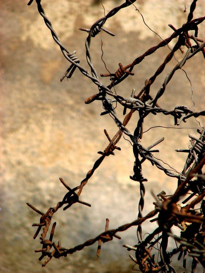 BARBELÉ ! photo libre de droits