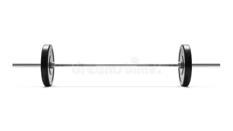 Barbell imagem de stock