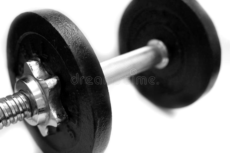 Download Barbell stock photo. Image of sports, silver, gears, blacl - 15677008