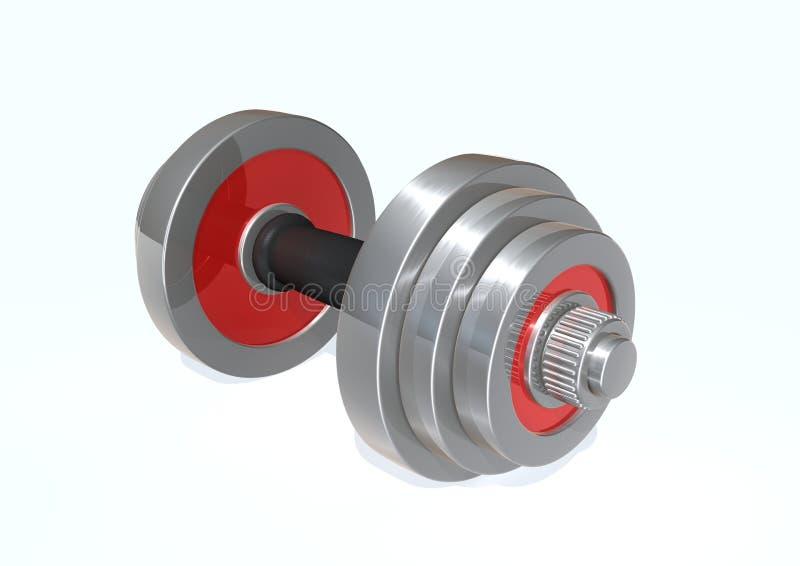 Download Barbell απεικόνιση αποθεμάτων. εικονογραφία από γυμναστική - 17056276