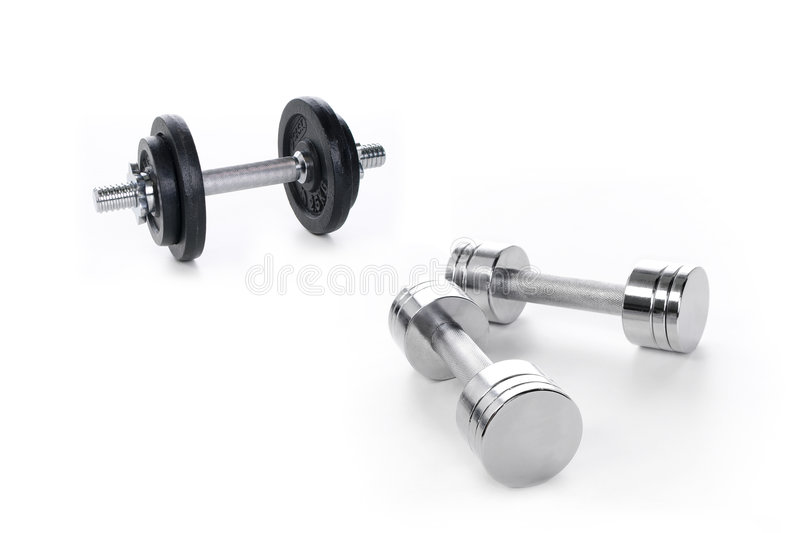 Download Barbell Royalty Free Stock Photos - Image: 6469388