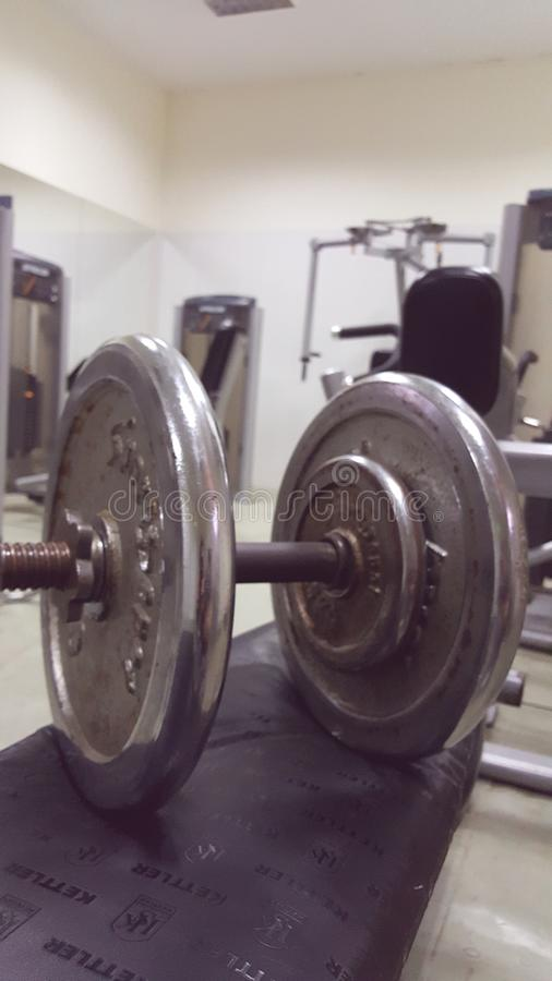 Barbell obrazy royalty free