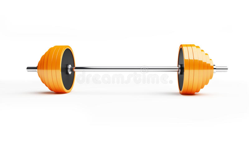 Barbell Royalty Free Stock Image