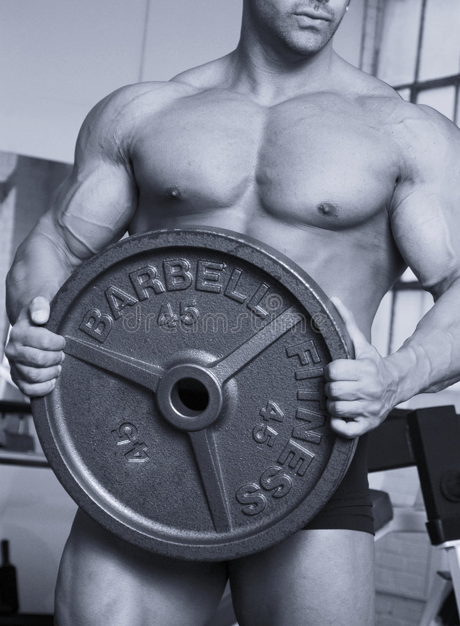 Free Barbell Plate Stock Photos - 1316793