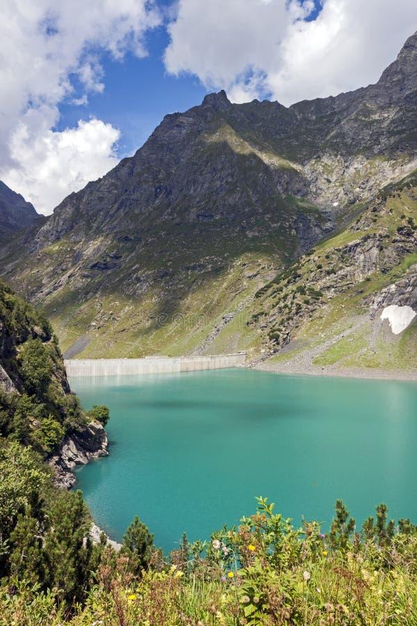 Free Barbellino Dam And Artificial Lake, Alps Orobie, Bergamo, Royalty Free Stock Photo - 124928465
