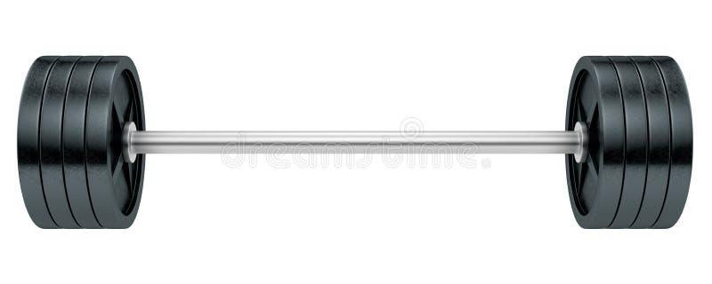 Barbells stock illustratie