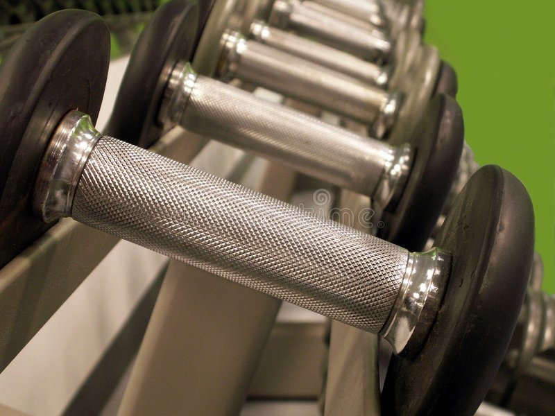 Download Barbells stock photo. Image of handle, devices, strength - 368578