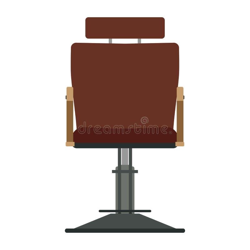 Barber chair vector shop barbershop salon hair hairdresser illustration royalty free illustration