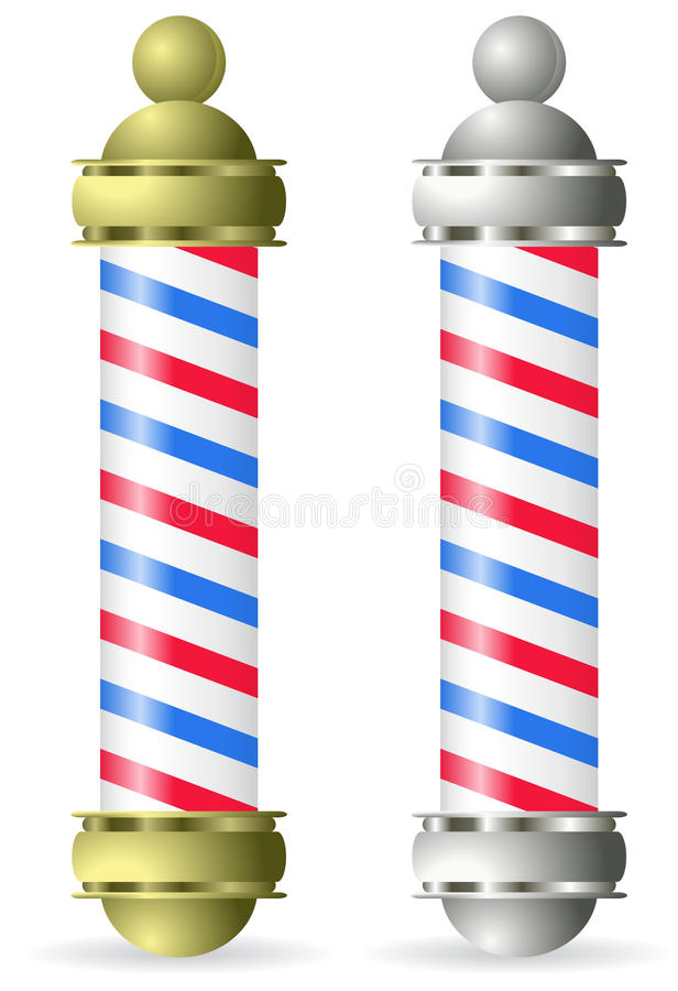Free Barber Pole Royalty Free Stock Images - 18022939
