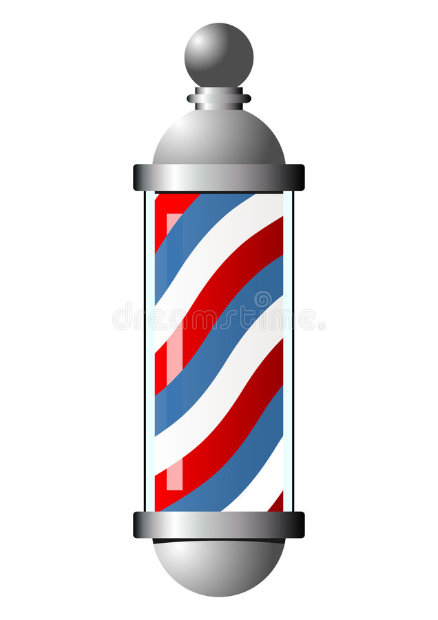 Free Barber Pole Royalty Free Stock Images - 2651599