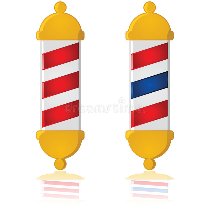 Barber Pole Royalty Free Stock Photos