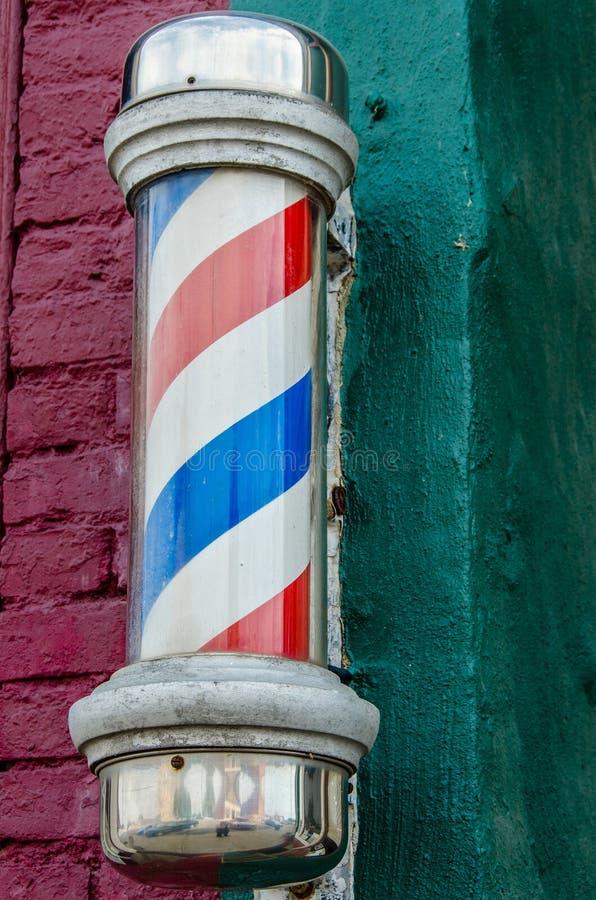 Barber Pole stock image