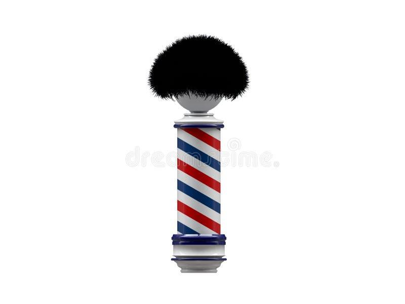 Download Barber pole sign stock illustration. Illustration of sign - 19078465