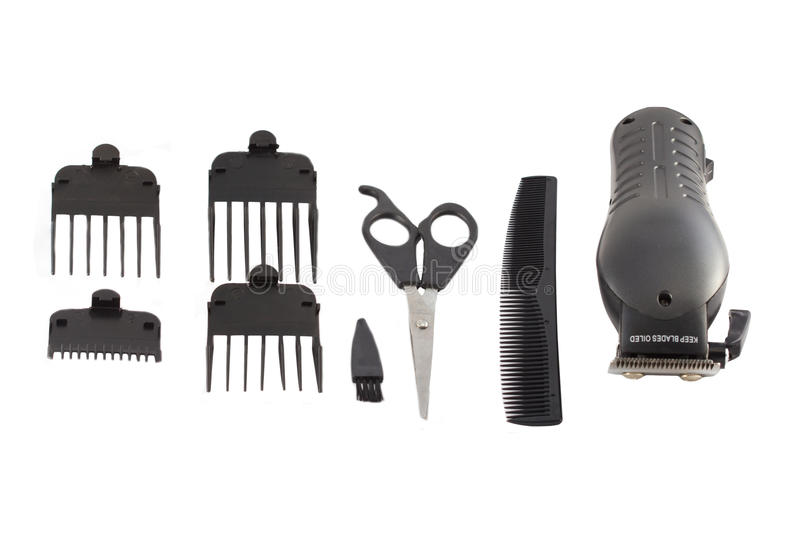 Download Barber's tool set. stock image. Image of sharp, group - 21104717