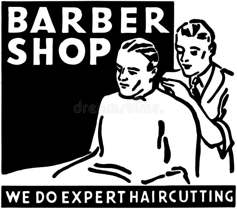 Barber Shop 2 illustration stock