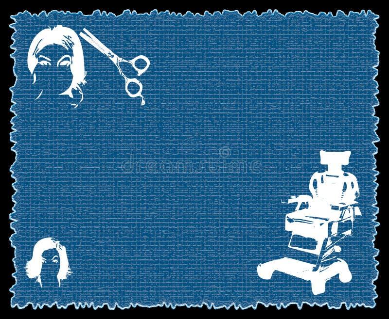 Download Barber shop stock illustration. Illustration of brunette - 4808678