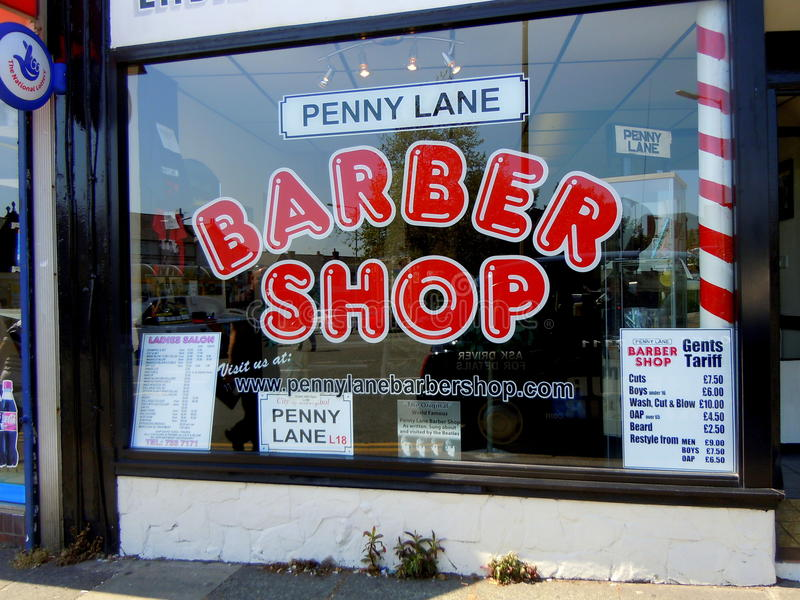 Barber Shop stock fotografie