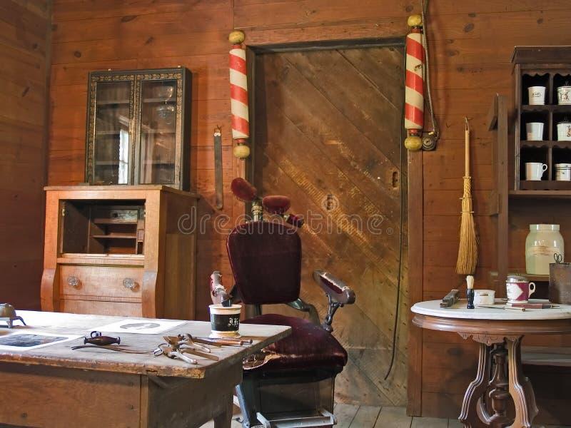 Barber Shop antica fotografia stock