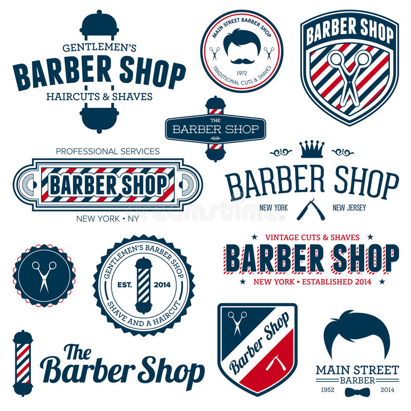 Free Barber Shop Graphics Stock Photo - 29327830