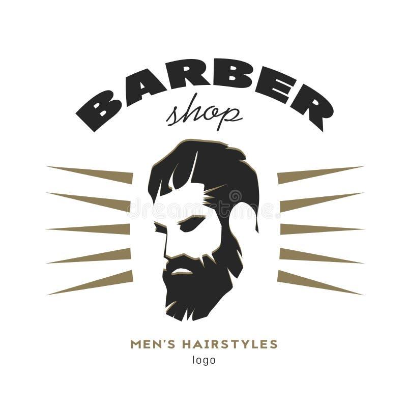 Barber shop royalty free illustration