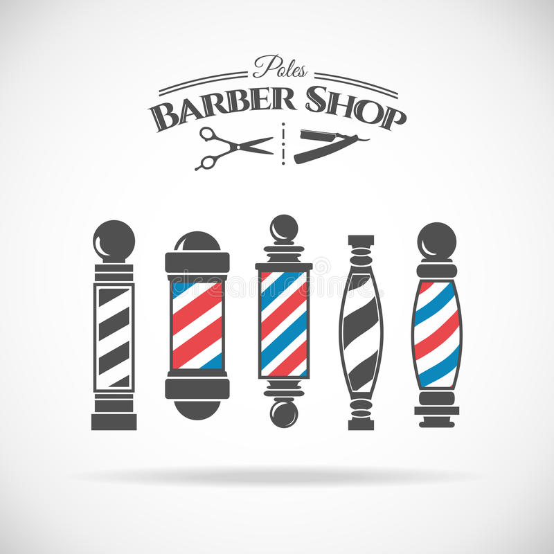 Free Barber Shop Pole Royalty Free Stock Photo - 60853495