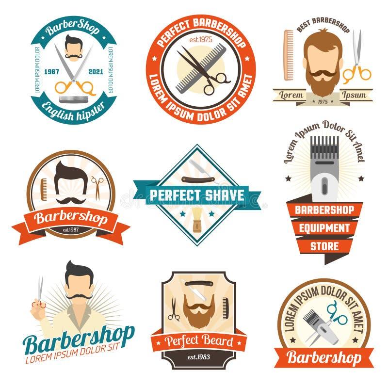 Barber Shop Sign royalty free illustration